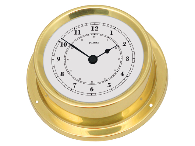 Talamex Serie 125 Messing (Borduhr / Barometer / Thermo Hygrometer)