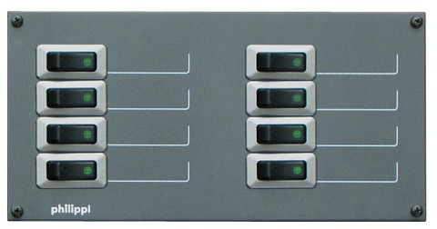 Philippi STV 208 für 8 Stromkreise