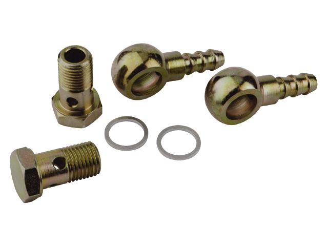 Talamex Anschlusskit drehbar mit 2 Nippel und 4 Dichtungen 10mm