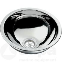 allpa NIRO Spülbecken, rund (verschiedene Größen)
