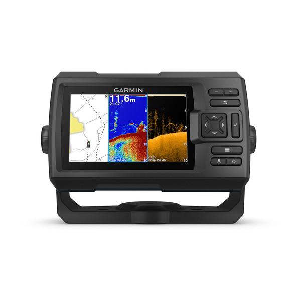 Garmin Striker Plus 5cv GPS Echolot Fishfinder mit ClearVü