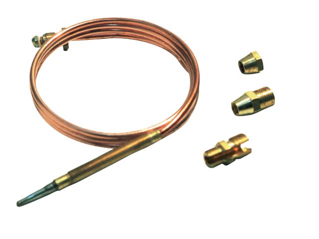Talamex Gas Thermoelement universal 90cm mit 4 Anschlussstücken
