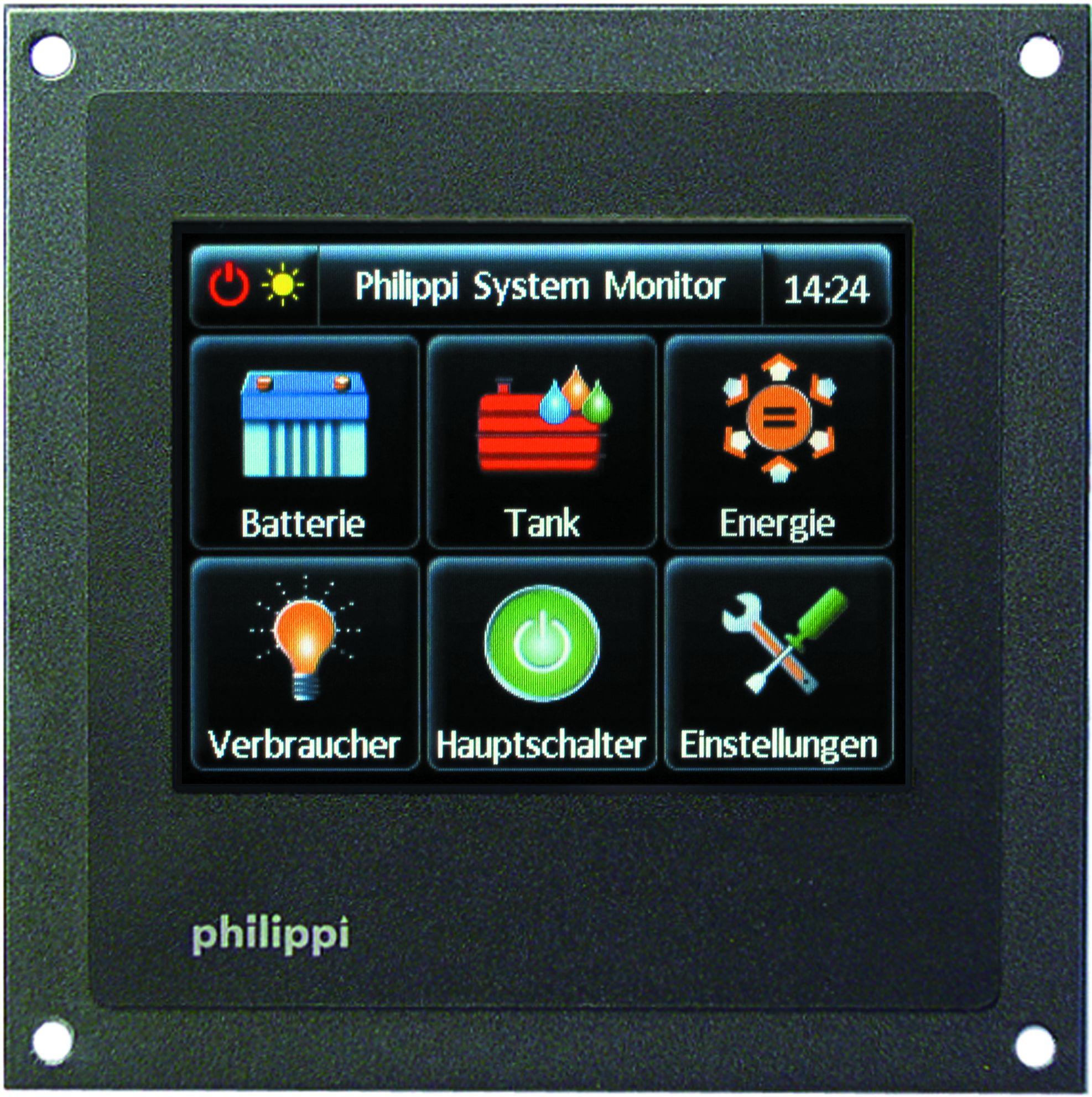 Philippi System Monitor PSM Verbraucher Schaltung