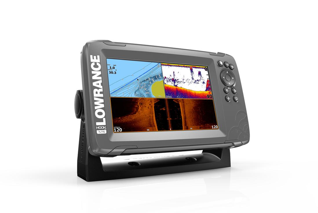 Lowrance Hook2-9 TripleShot GPS Combo Echolot