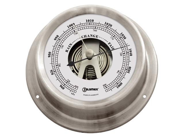 Talamex Serie 125 Edelstahl Barometer