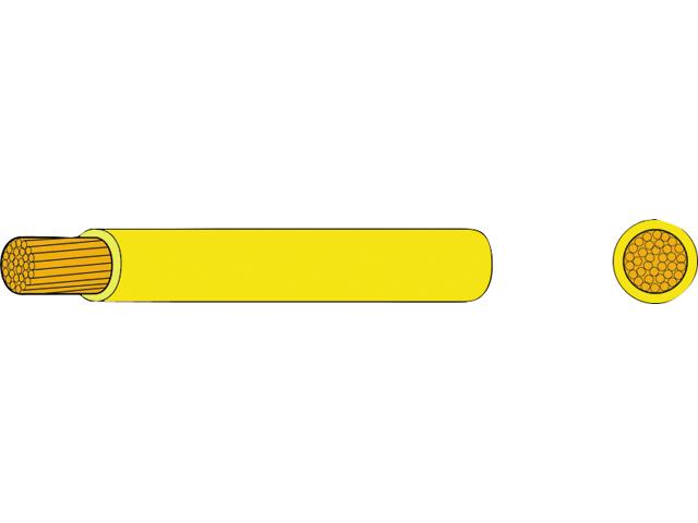 AutoMarine Gleichstrom Montage Kabel Mantel gelb