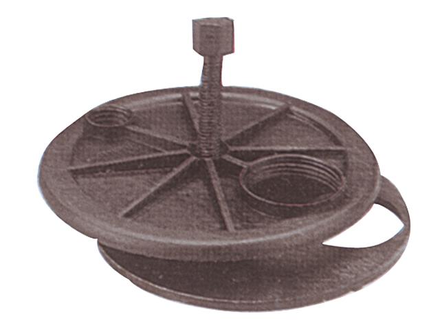Wema Spezialflansch mit 115mm Durchmesser
