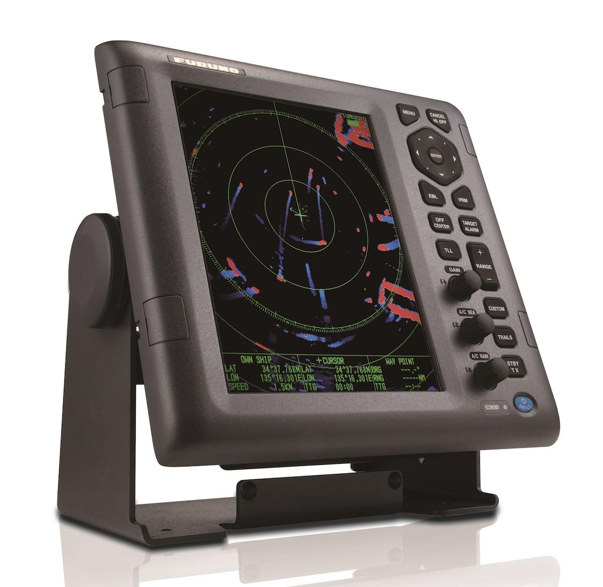 """Furuno M1835 Farb LCD Radar 10,4"""" 4 kW Radom Anlage"""