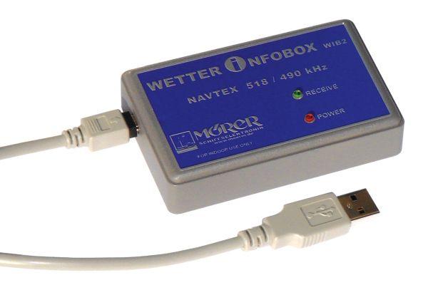 MÖRER Wetterempfänger NAVTEX für PC und Notebook (WIB2)