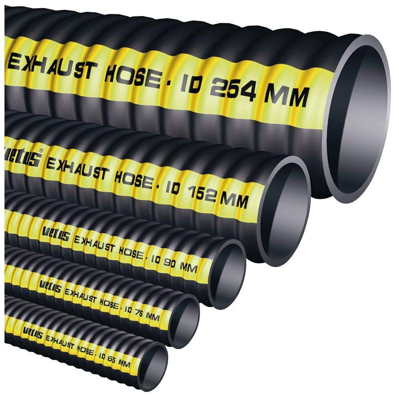 Vetus Gummi Auspuffschlauch Typ SLANG (verschiedene Größen) Preis / Meter