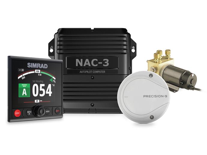 Simrad Hydraulik Autopilot Komplett Set NAC-2 AP44
