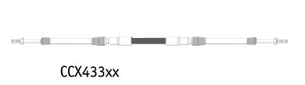 Seastar CCX433 Motor Fernbedienzug Extra Stark HD (versch. Längen)