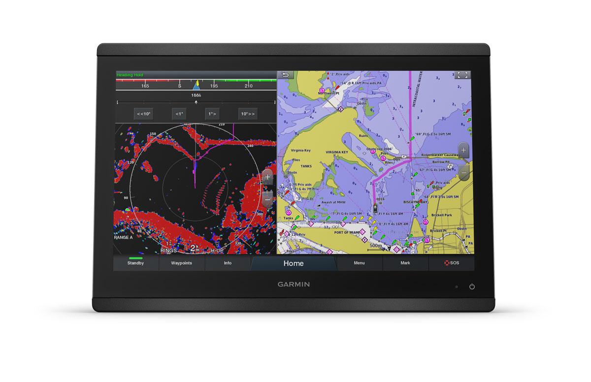 "Garmin GPSmap 8416 GPS Multifunktionsdisplay 16"""