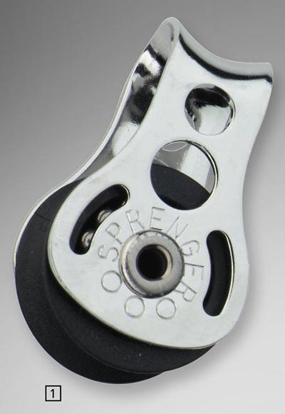 Sprenger 6mm Micro XS Block einfach mit durchgehendem Bügel