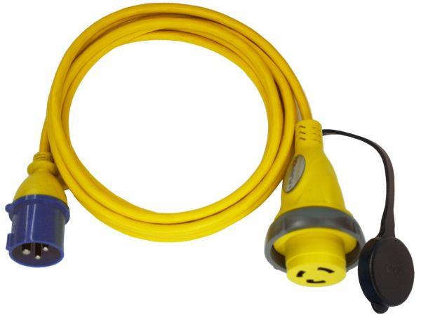 Furrion Landanschlusskabel Amerikanische Norm auf CEE 230V 16A Länge: 25m