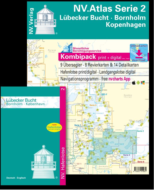 NV Kombipack Atlas Serie 2 Lübecker Bucht Bornholm