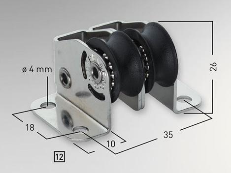 Sprenger 6mm Micro XS Stehblock doppelt