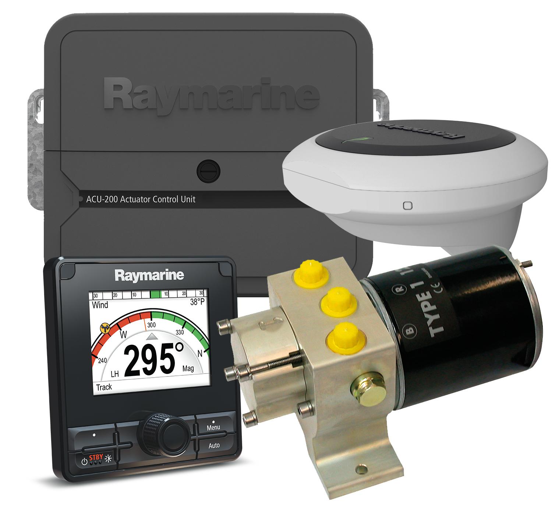 Raymarine Evolution Hydraulik Komplettset Medium Current
