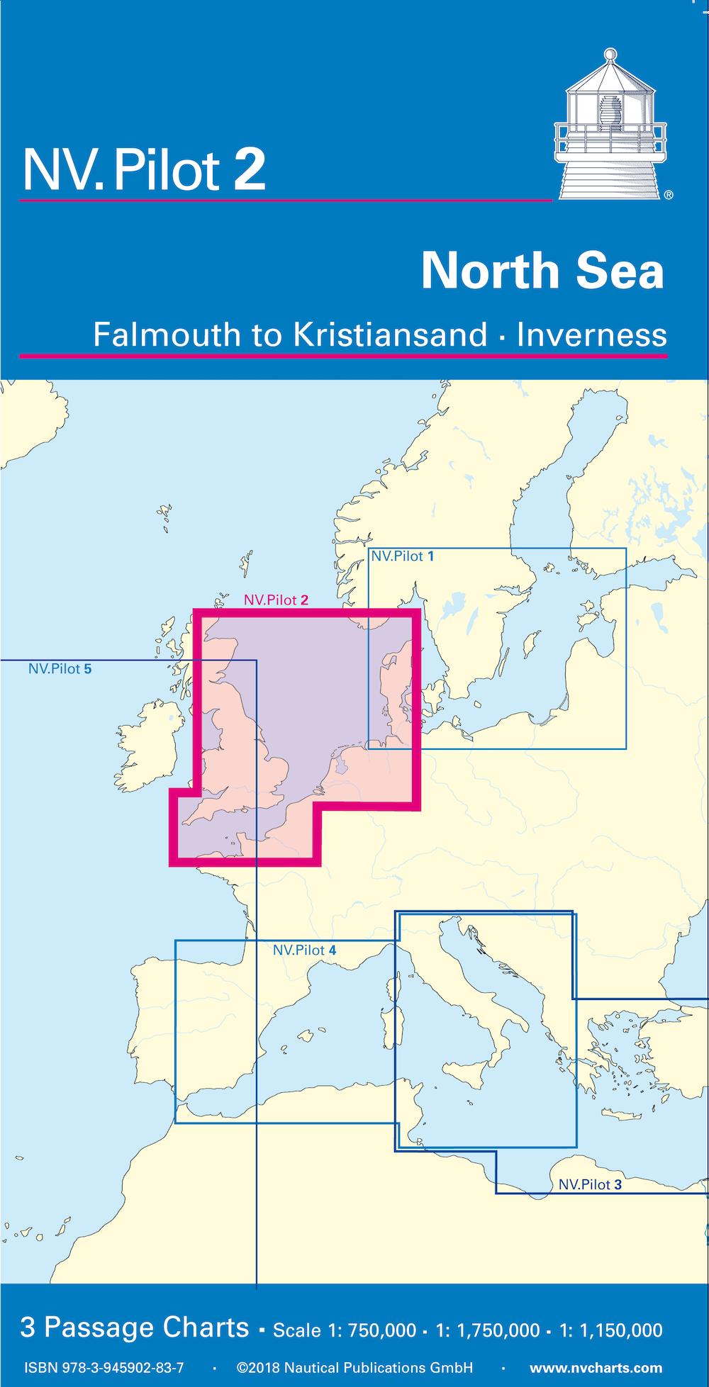 NV Pilot 2 - North Sea - Falmouth to Kristiansand Inverness
