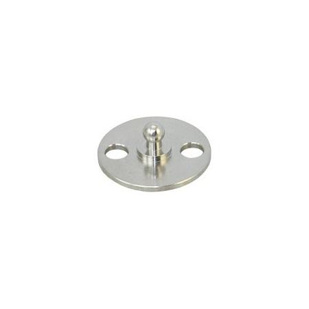 Tenax runde Basisplatte zum Schrauben Edelstahl