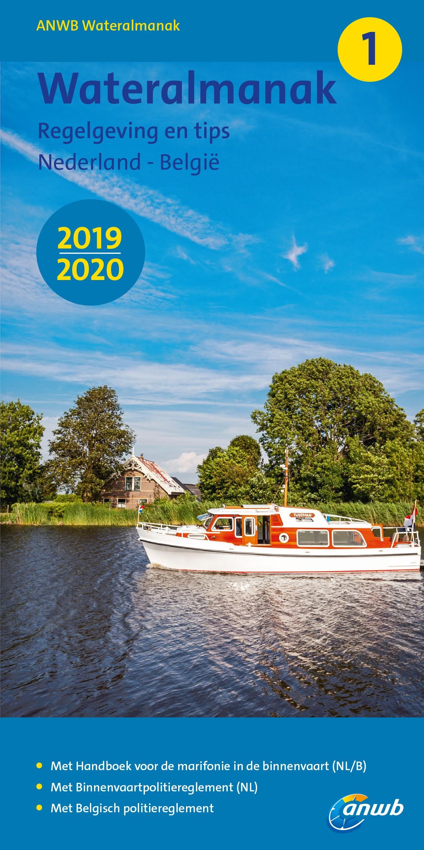 ANWB Wateralmanak Teil 1 - Ausgabe 2019/2020