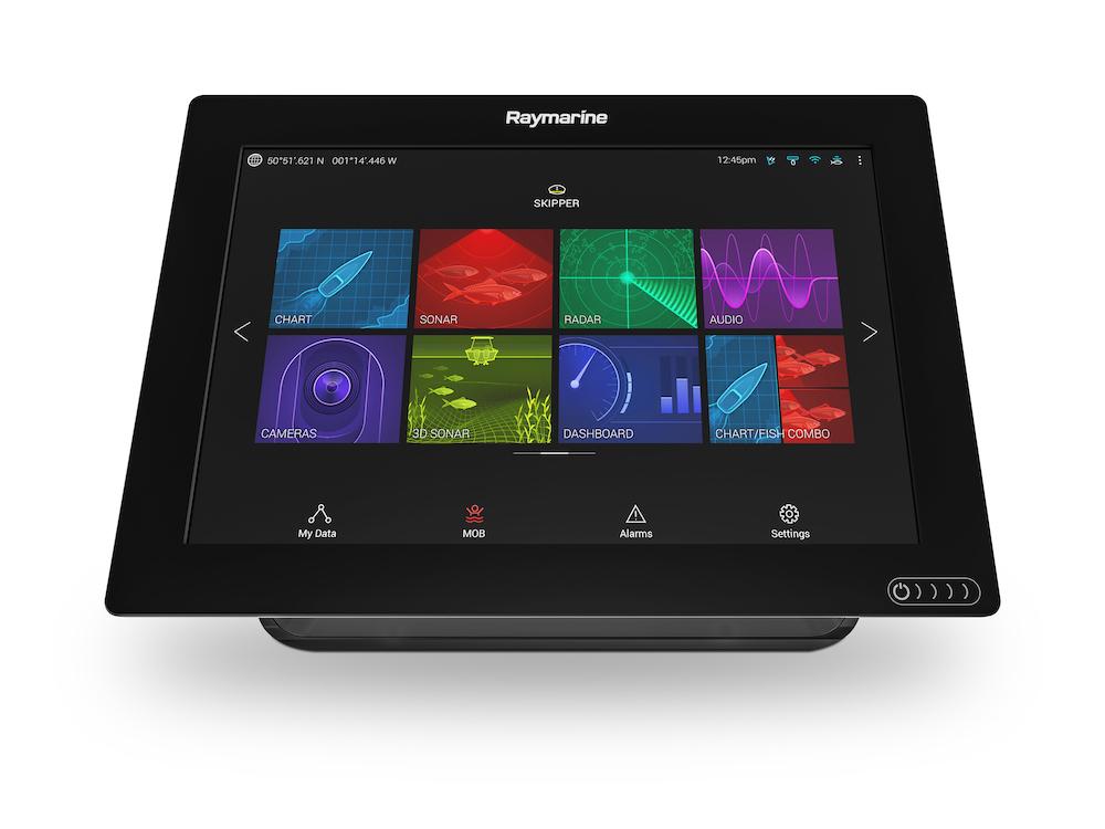 Raymarine Axiom GPS MFD mit RealVision (versch. Typen)