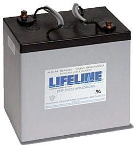 Lifeline GPL-22M AGM Batterie 55Ah