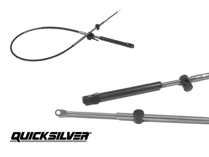 Quicksilver Mercury Gas- Schaltzug Gen I