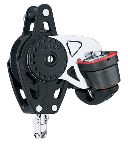 Harken 75mm Carbo Ratchamatic w/Cam & Becket (2684)